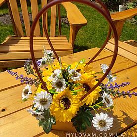 Букет польових квітів, Букет з мила ручної роботи,