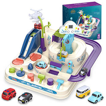 Детский развивающий трек Urban City Car