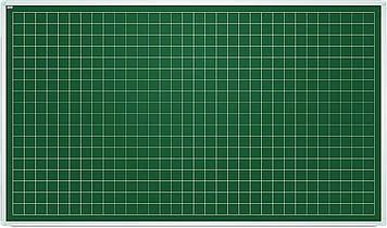 Дошка для письма крейдою, клітинка 5х5 см 85х100 см