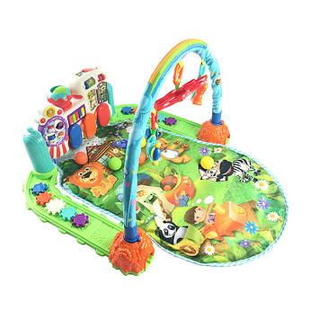 Детский интреактивный развивающий коврик Baby Gift з пианино