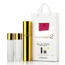 Мини-парфюм с феромонами женский Gucci Rush 2 3х15 мл