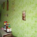 3D панель самоклеюча, декоративні 3Д панелі для стін, Салатовий Мармур, фото 3
