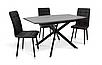 Кухонний комплект: стіл та 4 стільця - Річард, фото 3