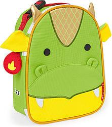 Детская термосумка Skip Hop Zoo lunch bag - Dragon (Дракон), 3+