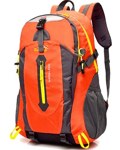 Спортивний туристичний міський рюкзак для тренувань і туризму помаранчевий