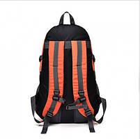Спортивний туристичний міський рюкзак для тренувань і туризму помаранчевий, фото 2