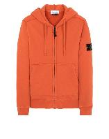 Толстовка Stone Island 60220 Zip Hooded Sweatshirt Orange