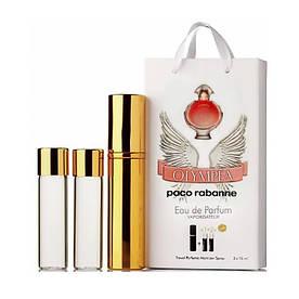 Мини-парфюм с феромонами женский Paco Rabanne Olympea 3х15 мл