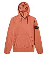 Толстовка Stone Island 62820 Hooded Sweatshirt Rust Red