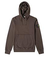 Толстовка Stone Island 62820 Hooded Sweatshirt Brown
