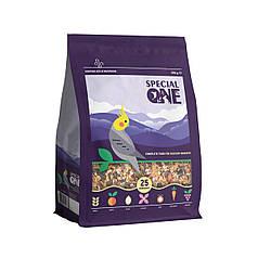 Полнорационный корм для средних попугаев  SPECIAL ONE,  500 г