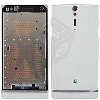 Корпус для Sony Xperia S LT26i - оригинал (белый)
