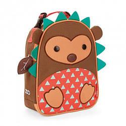 Детская термосумка Skip Hop Zoo lunch bag - Hedgehog (Ежик), 3+