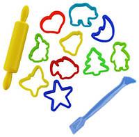 Детский Набор формочек для лепки из пластилина и теста, LEP02