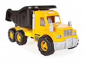 Игрушечная машинка Самосвал Pilsan 06-616 Жёлтый | Машинка грузовик
