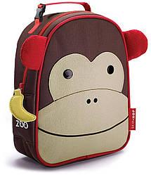 Детская термосумка Skip Hop Zoo lunch bag - Monkey (Обезьяна), 3+