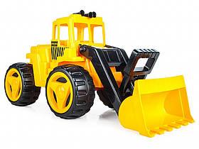 Игрушечная машинка Экскаватор Pilsan 06-205 Жёлтый | Машинка іграшка дитяча