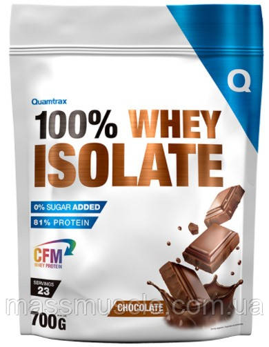 Протеин Quamtrax 100% Whey Protein Isolate 700g