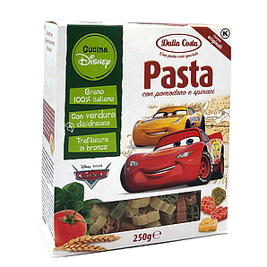 Макарони DALLA COSTA Disney Cars 250г15шт/ящ