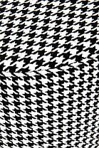 Пуф ARUNA чорно білий (Halmar), фото 2