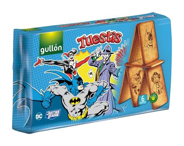 Печиво GULLON, Tuestis JL (Ліга Справедливості), 400г, 8шт/ящ