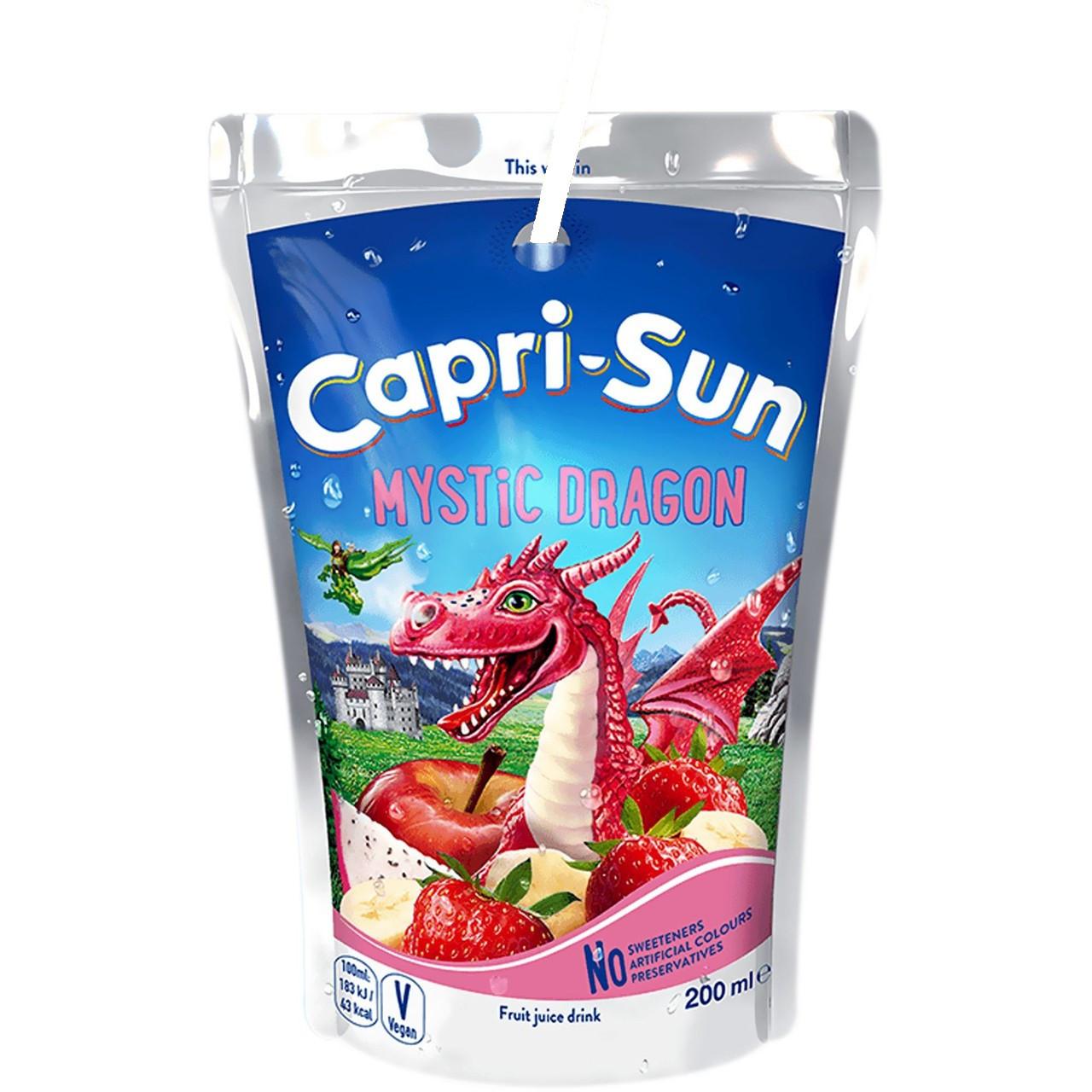 Напій CAPRI-SUN Mystic Dragon 0,2л 20шт/уп