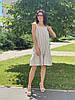 Платье из льна женское Poliit 8841