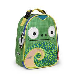 Детская термосумка Skip Hop Zoo lunch bag - Chameleon (Хамелеон), 3+