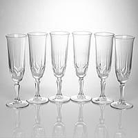 """Набор фужеров для шампанского 163 мл """"Karat """" Pasabache 6шт."""
