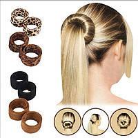 Гумка/шпилька для волосся Hairagami Bun Tail, Хеагамі, фото 1