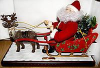 РАСПРОДАЖА!! Музыкальный Дед Мороз в санях!! Эксклюзив!!!
