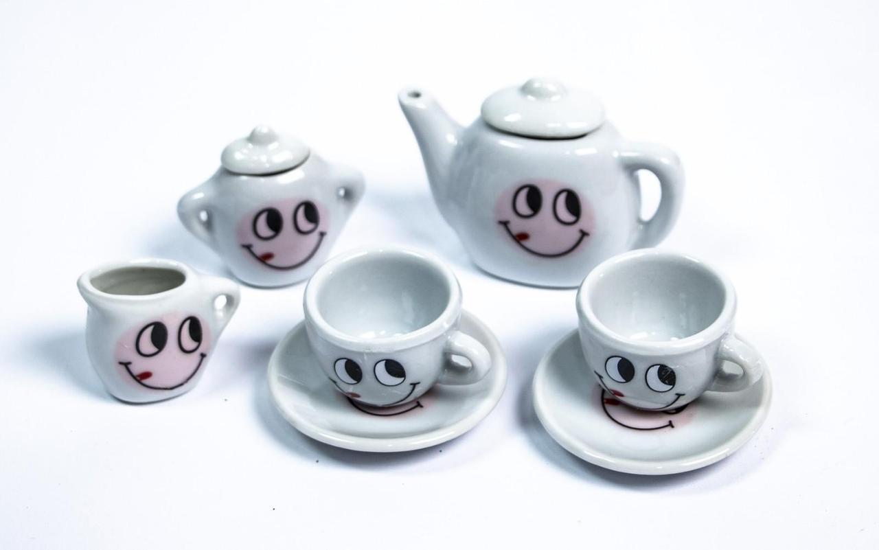 Набір порцеляновий чайний сервіз C300