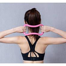 Изотоническое кільце для пілатесу Fitness Yoga-ring, йога коло