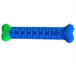 Зубна щітка для собак з секретом Chewbrush