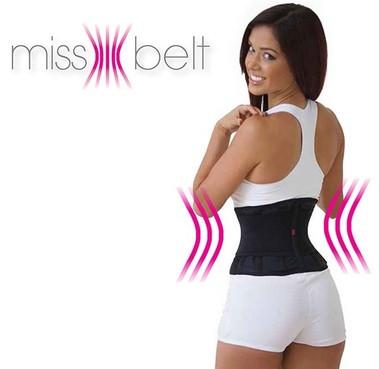 Пояс для похудения Мисс Бэлт Miss Belt компрессионный