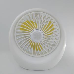 Портативний настільний міні вентилятор Mini Fan SQ1978A USB Білий