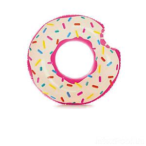 Надувной круг Intex 56265 «Пончик», 94 х 23 см, (Оригинал)