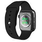 Смарт часы Apl Watch Series 7 W78Pro 44mm Aluminium, беспроводная зарядка умные часы, фото 4
