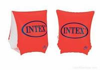 Нарукавники детские оранжевые надувные Интекс детские нарукавники для плавания 3-6лет