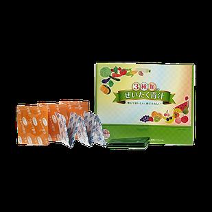 Japan Gals 3 види Аодзиру з ферментованих соків паростків ячменю, фруктів + молочнокислі бактерії 30 пак 3г