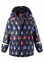 Куртка-дождевик демисезонная для мальчика Reima KOSKI 521507-698А. Размеры 98 - 128.