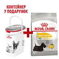 Royal Canin Mini Dermacomfort 3кг для собак міні порід