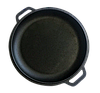 Казан чугунный азиатский с крышкой-сковородой Бризол Объем 12 л с подставкой, фото 2