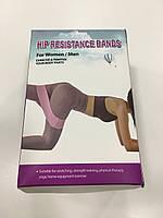 Фитнес резинки Zakerda Hip Resistance Band, Сетавир, 3 штуки