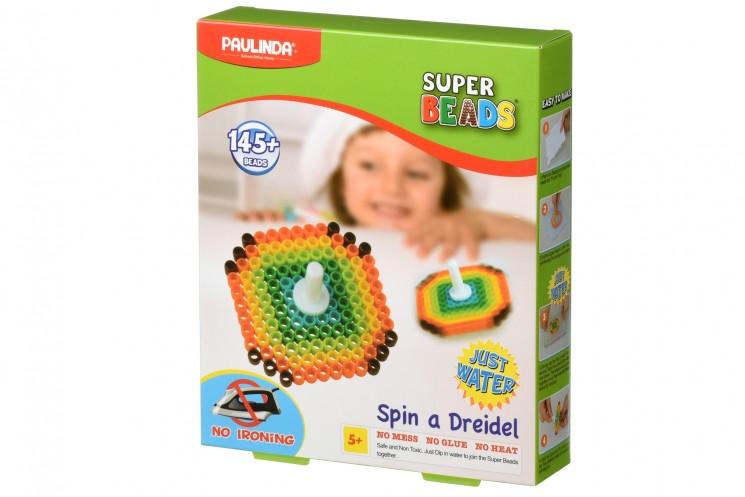 Аквамозаика для детей, мозаика брызгать водой Юла, Super Beads 145 деталей PAULINDA