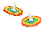 Аквамозаика для детей, мозаика брызгать водой Юла, Super Beads 145 деталей PAULINDA, фото 4