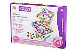 Мозаїка дитяча пластикова Colour ful designs (420 ел.) Same Toy, фото 2