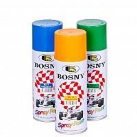 Акриловая аэрозольная краска BOSNY 400мл(все цвета).