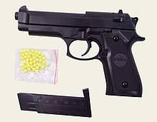 Игрушечный пистолет на пульках 6мм, металлический, ZM18, CYMA