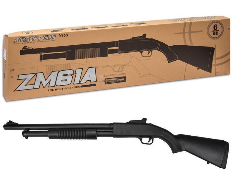 Іграшкова рушниця металеве з кульками, ZM61A, CYMA